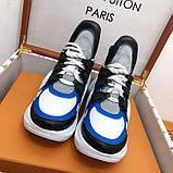 Кроссовки, кеды, сникерсы Луи Витон Archlight Sneaker, цвет синий, фото 7