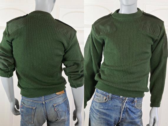 Оригинальные шведские свитера олива новые шерсть