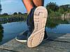 Кроссовки мужские синие New Balance замша реплика, фото 2