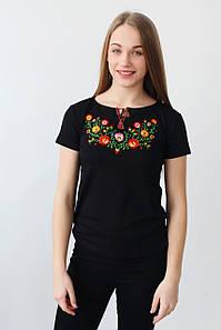 Вишита жіноча футболка А-24