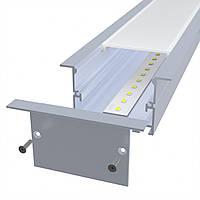 Linea Cut-2000 80W 8000Lm (35х65х2000) врезной/встроенный линейный LED-светильник