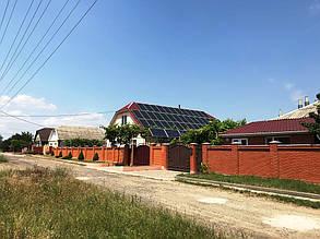 Готовая к эксплуатации солнечная электростанция.