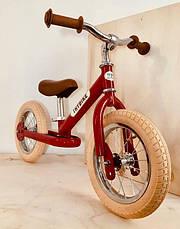 Балансирующий велосипед, цвет рубиновый Trybike, фото 2
