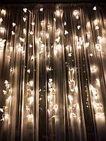 Свадебная гирлянда штора «Ветки орхидей», фото 1