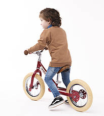 Балансирующий велосипед, цвет рубиновый Trybike, фото 3