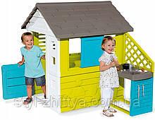 SMOBY Дитячий ігровий будиночок + кухня