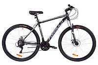 """Горный велосипед FORMULA THOR AL 1.0 AM DD 29""""(черно-серый с белым)"""