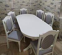 Розкладний стіл Амфора зі стільцями Консул, фото 1