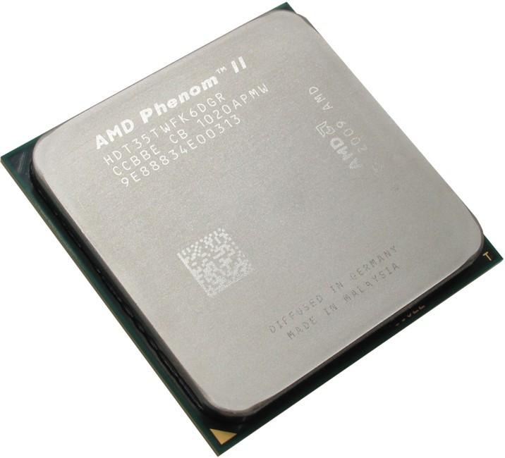 Процессор AMD Phenom X6 1035T 2600MHz, sAM3 tray