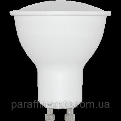 Лампа світлодіодна GU10 7W 3000K, фото 2