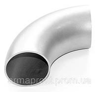 Отвод нержавеющий шовный 101,6х2,0 AISI 304 DIN 11850
