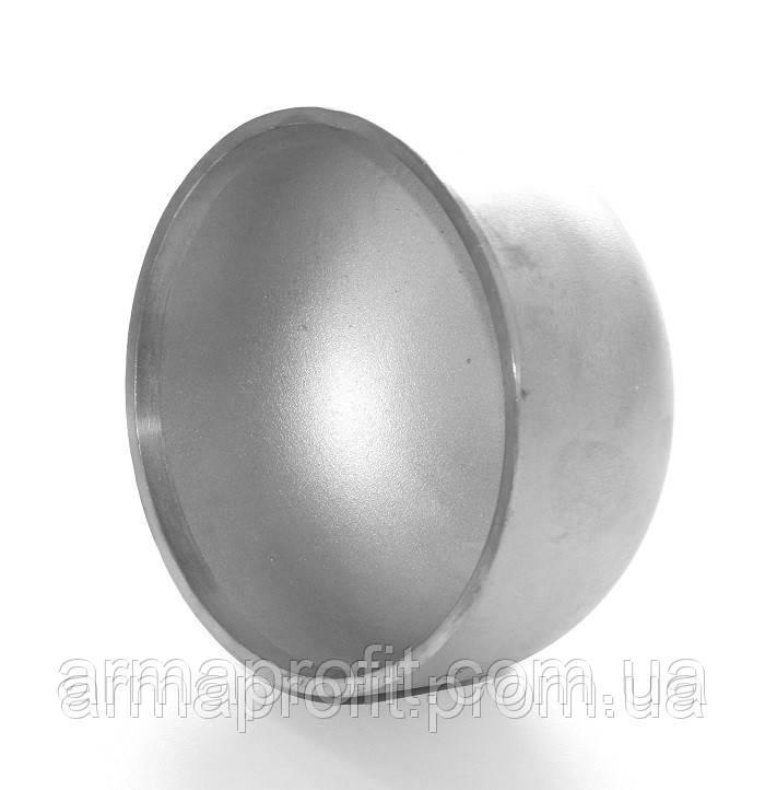 Заглушка нержавеющая 101,6х2 AISI304