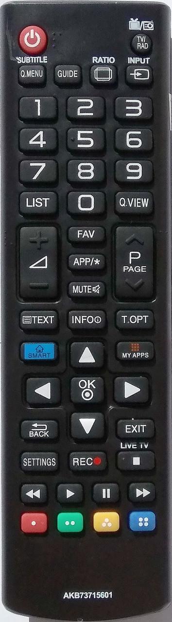 Пульт для телевизора LG. Модель AKB73715601
