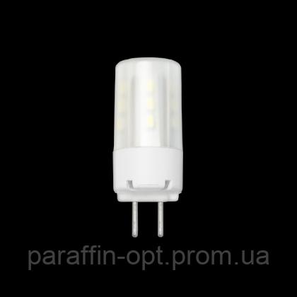 Лампа світлодіодна  G6-4.5W 220V 3000K, фото 2