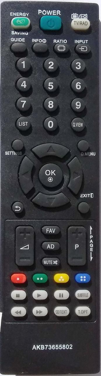 Пульт для телевизора LG. Модель AKB73655802