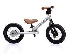 TRYBIKE - Балансирующий велосипед, цвет серебряный