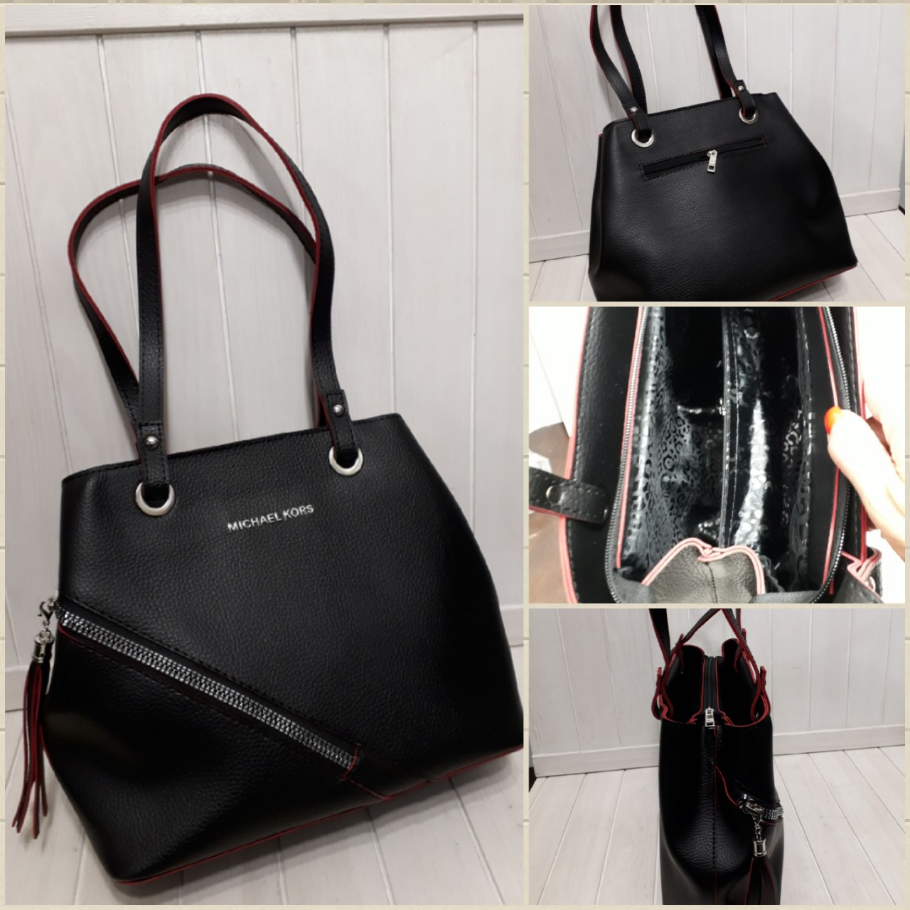dfc47e78519e Женская сумка-тоут из искусственной кожи 27*30 см, цена 440 грн ...