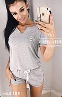 Женская пижама шорты, фото 1