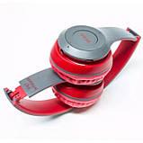 Беспроводные наушники MDR P47 red bluetooth microSD Mp3, фото 5