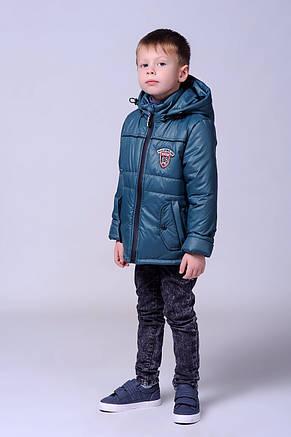 Красивая демисезонная курточка для мальчика 116-134, фото 3