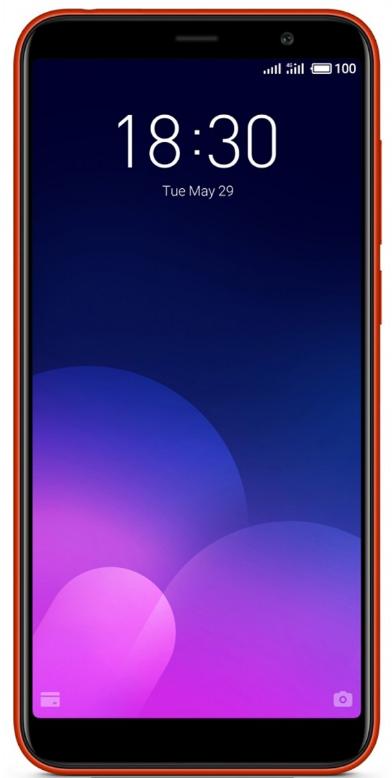 Смартфон Meizu M6T 32Gb Red Global Version Оригинал Гарантия 3 / 12 месяцев