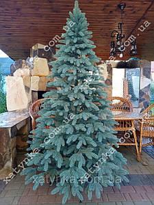 Литая елка Премиум 2.10м. голубая / Лита ялинка / Ель литая / Ёлка /  елка искусственная литая