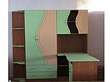 Набор мебели для детской Эколь с кроватью (БМФ) МДФ , фото 6