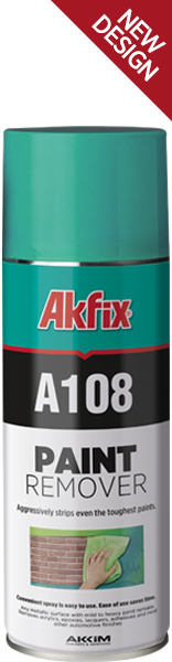 Спрей для удаления красок AKFIX C108 Paint Remover  400 мл