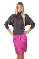Модная женская юбка до колен 303 опт и розница, фото 1