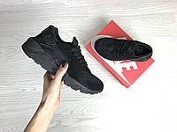 Подростковые (женские) 7409 кроссовки демисезон Nike Найк Черные купить дёшево , фото 1
