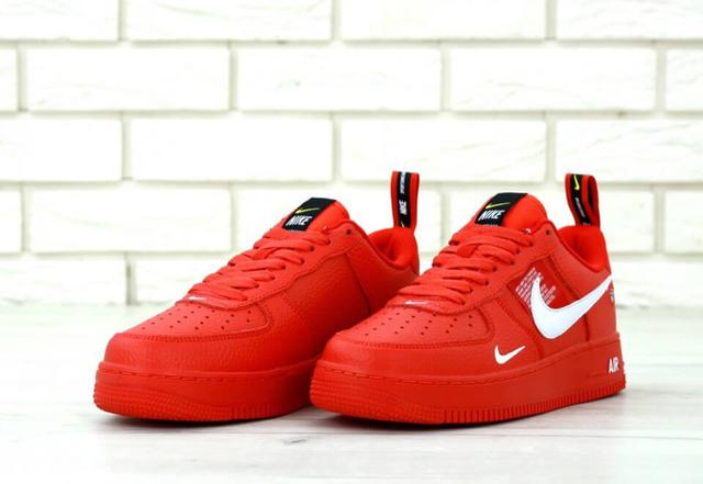 Nike Air Force 1 Low Red фото