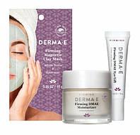 Набор с ДМАЭ для питания и упругости кожи лица Derma E (США)