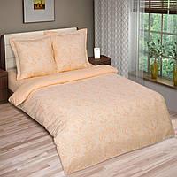 Ткань для постельного белья поплин Грация персик