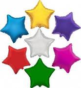 Фольгированные шары звёзды