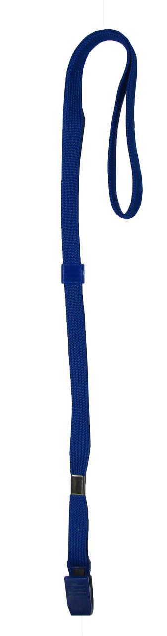 Шнур для подвесного бейджа Scholz синий 45 см.