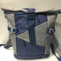 Рюкзак Zanex серый с синим, фото 1