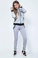 Удобный костюм из турецкой двунитки для спорта 43734 (42–46р) в расцветках