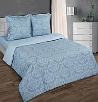 Ткань для постельного белья поплин Византия серая