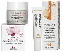 Эффективный уход за проблемной кожей лица 18 + * Derma E (США) *