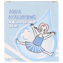 """Увлажняющий крем с гиалуроновой кислотой Elizavecca """"Aqua Hyaluronic Acid Water Drop Cream"""" (50 мл)"""