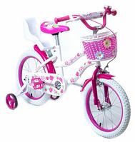 Велосипед детский 16 дюймов.Детский велосипед для девочки.Детский прогулочный велосипед.