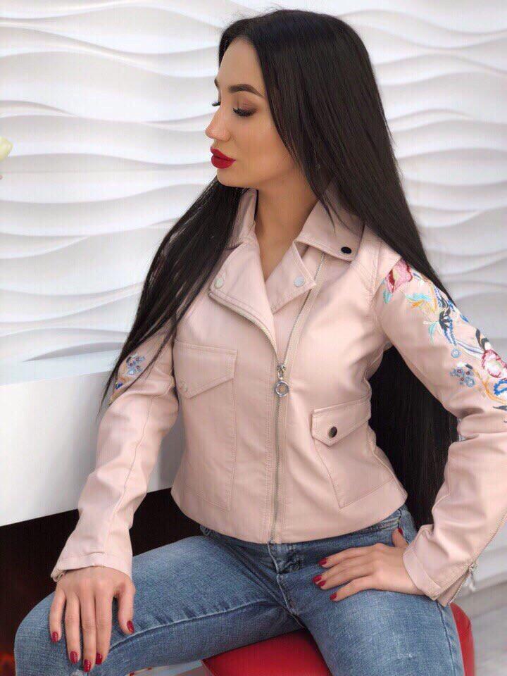 Куртка эко-кожа весна