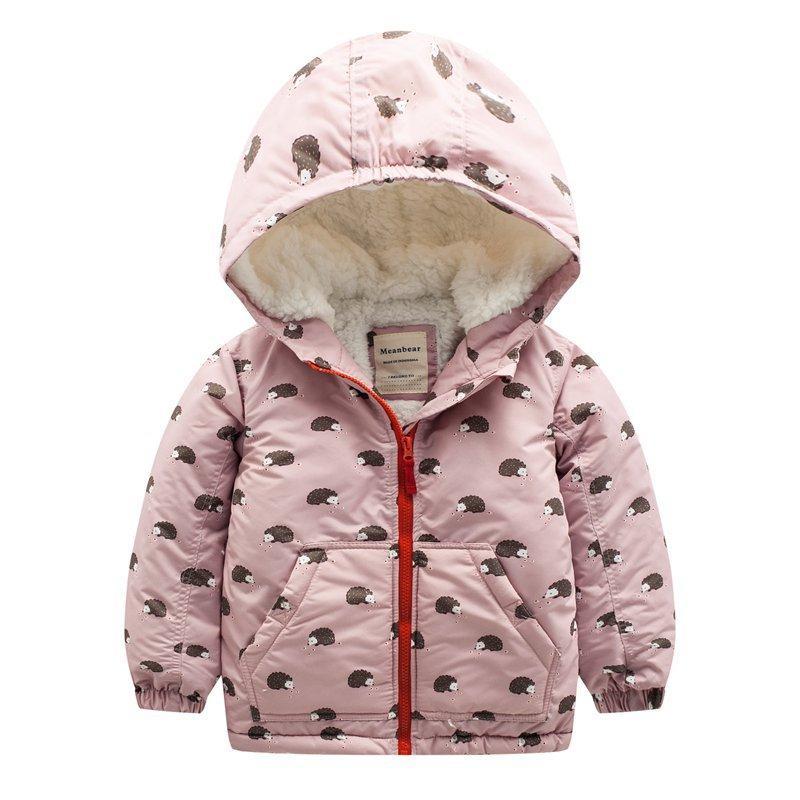 Куртка для девочки Ежики Meanbear