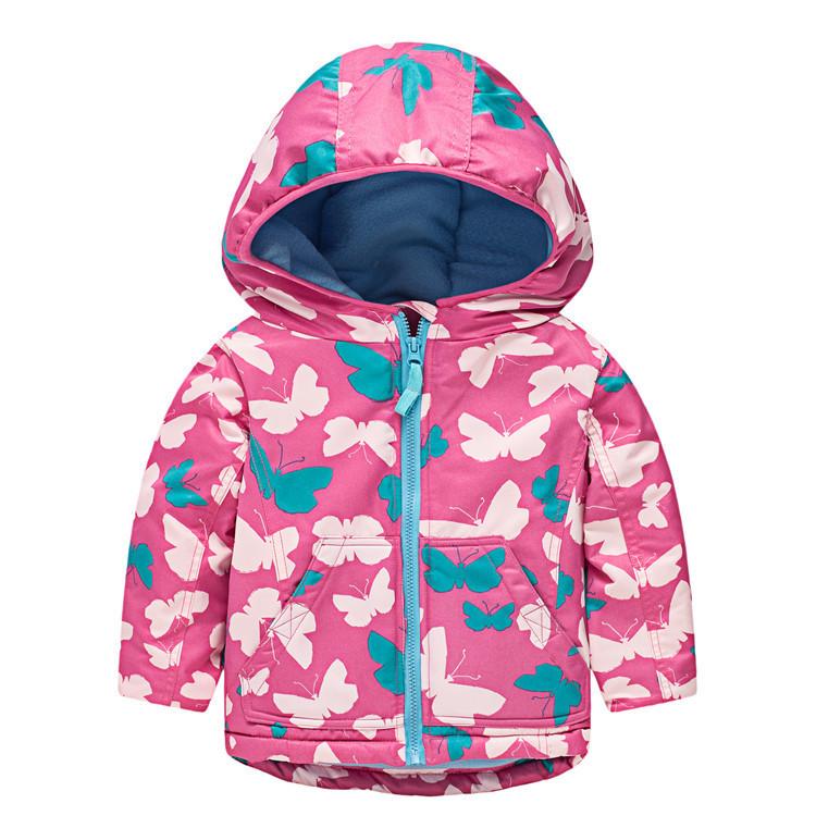 Куртка для девочки Бабочки Meanbear