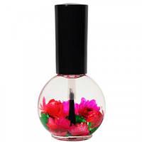 Naomi Цветочное масло для кутикулы и ногтей Роза, 15 мл