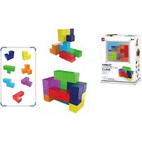 Конструктор Головоломка Магнитный Блоковый Квадратные блоки развивающий, XINBIDA 7 дет 54 карты, 730А-В 009642, фото 1
