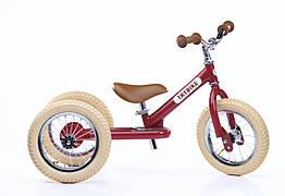 TRYBIKE - Балансирующий велосипед трехколесный, цвет рубиновый