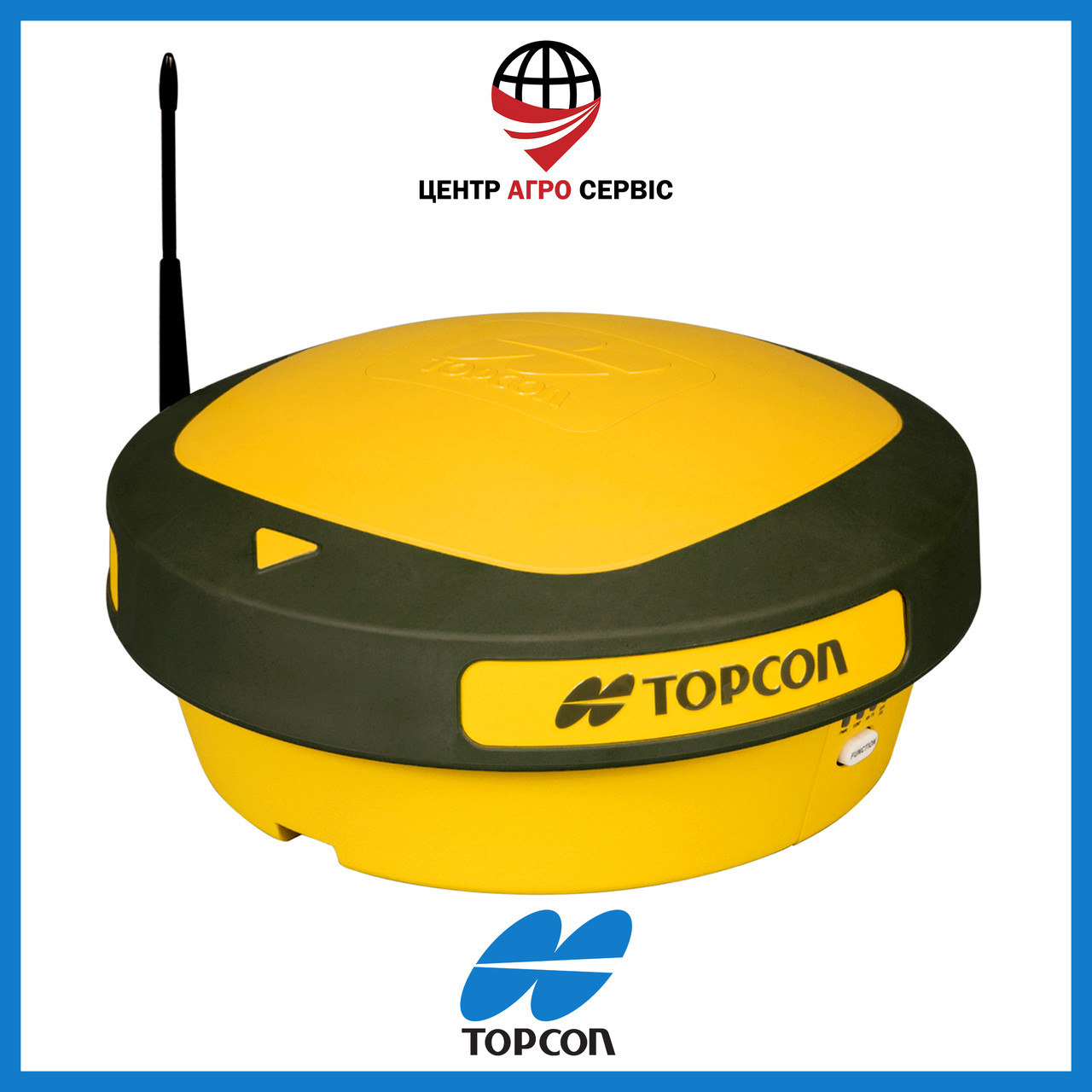ПриемникAGI-3 Topcon, GPS и ГЛОНАСС (L1, L2)