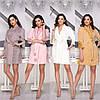 Женский халат велюровый (181) Разные цвета