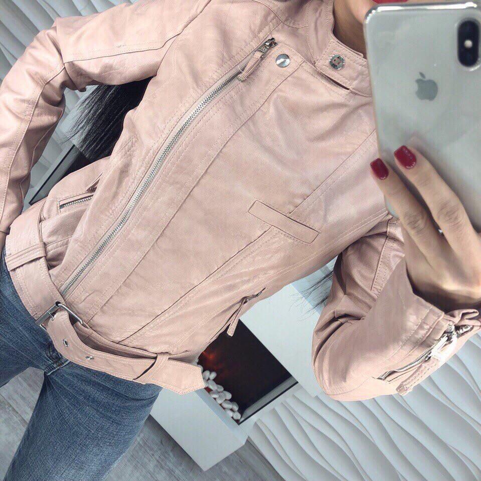 Куртка весенняя с эко-кожи